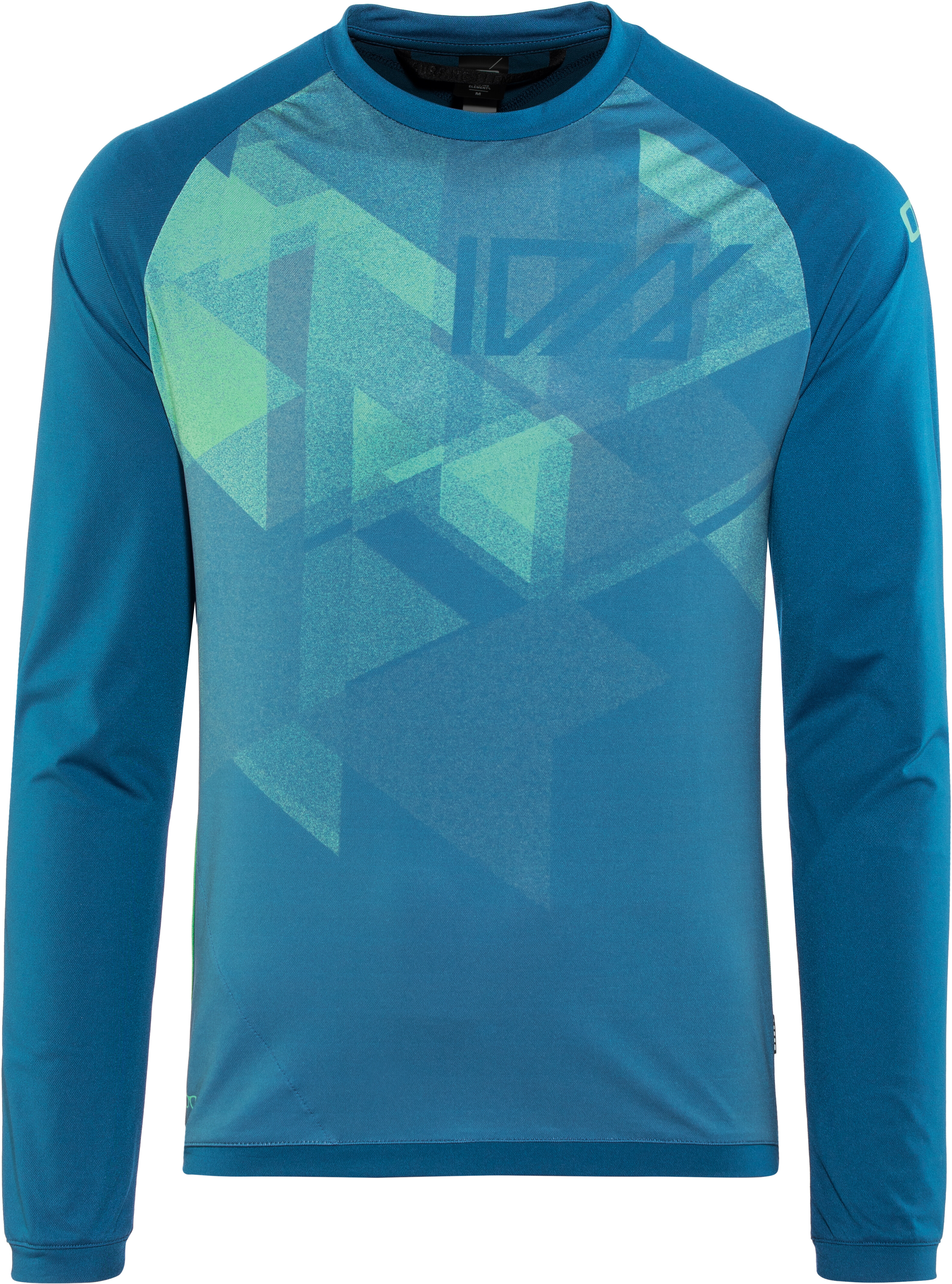 d5f08cd43 ION Traze AMP Bike Jersey Longsleeve Men blue at Bikester.co.uk